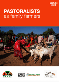 PASTORALISTS AS FAMILY FARMERS